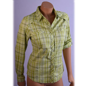 Columbia Sportswear green long sleeves shirt SzS